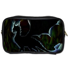 Dragon Aura Travel Toiletry Bag (one Side)