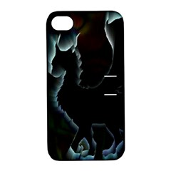 Dragon Aura Apple Iphone 4/4s Hardshell Case With Stand