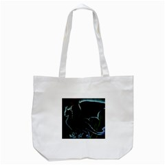 Dragon Aura Tote Bag (White)