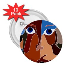 Abstract God 2 25  Button (10 Pack)