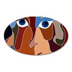 Abstract God Magnet (Oval)