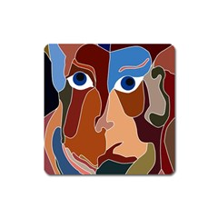 Abstract God Magnet (Square)
