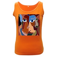 Abstract God Women s Tank Top (Dark Colored)