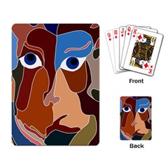 Abstract God Playing Cards Single Design