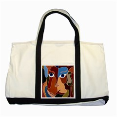 Abstract God Two Toned Tote Bag