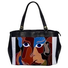 Abstract God Oversize Office Handbag (one Side)