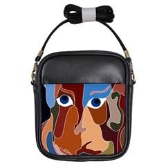 Abstract God Girl s Sling Bag