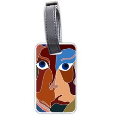 Abstract God Luggage Tag (one Side)