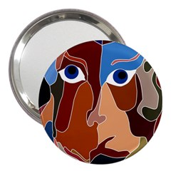 Abstract God 3  Handbag Mirror