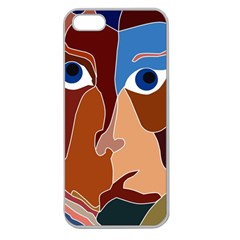 Abstract God Apple Seamless Iphone 5 Case (clear)