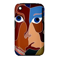 Abstract God Apple iPhone 3G/3GS Hardshell Case (PC+Silicone)