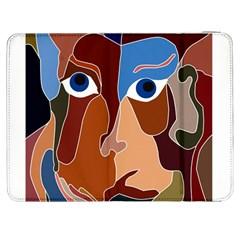 Abstract God Samsung Galaxy Tab 7  P1000 Flip Case