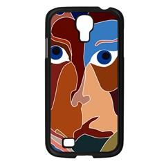Abstract God Samsung Galaxy S4 I9500/ I9505 Case (Black)