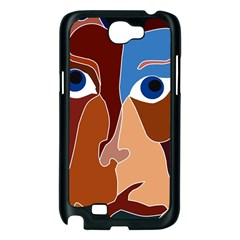 Abstract God Samsung Galaxy Note 2 Case (Black)