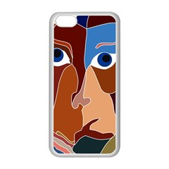 Abstract God Apple iPhone 5C Seamless Case (White)