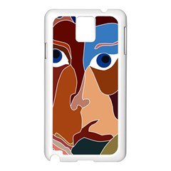 Abstract God Samsung Galaxy Note 3 N9005 Case (White)