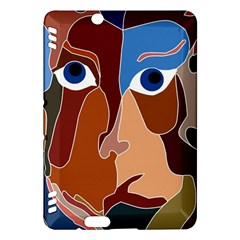 Abstract God Kindle Fire HDX 7  Hardshell Case