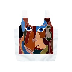 Abstract God Reusable Bag (S)