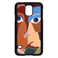 Abstract God Samsung Galaxy S5 Case (Black)
