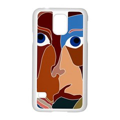 Abstract God Samsung Galaxy S5 Case (white)