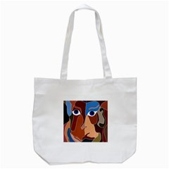 Abstract God Tote Bag (White)