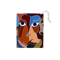 Abstract God Drawstring Pouch (Small)