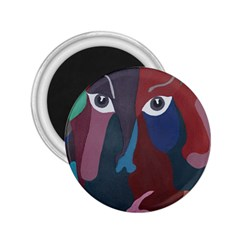 Abstract God Pastel 2 25  Button Magnet