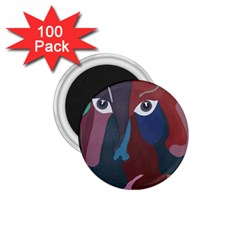 Abstract God Pastel 1.75  Button Magnet (100 pack)