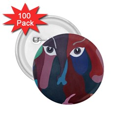 Abstract God Pastel 2.25  Button (100 pack)