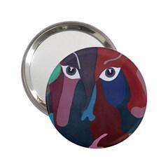 Abstract God Pastel Handbag Mirror (2 25 )