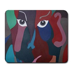 Abstract God Pastel Large Mouse Pad (rectangle)