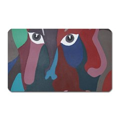 Abstract God Pastel Magnet (rectangular)