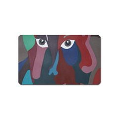 Abstract God Pastel Magnet (Name Card)