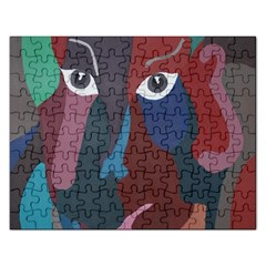 Abstract God Pastel Jigsaw Puzzle (rectangle)