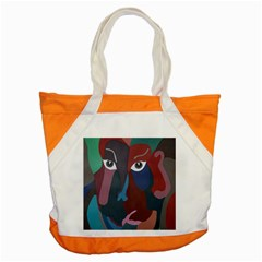 Abstract God Pastel Accent Tote Bag