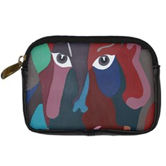 Abstract God Pastel Digital Camera Leather Case