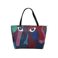Abstract God Pastel Large Shoulder Bag