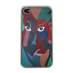 Abstract God Pastel Apple Iphone 4 Case (clear)