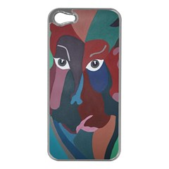 Abstract God Pastel Apple Iphone 5 Case (silver)