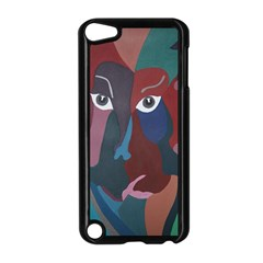 Abstract God Pastel Apple iPod Touch 5 Case (Black)