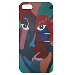 Abstract God Pastel Apple Iphone 5 Hardshell Case With Stand