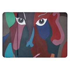 Abstract God Pastel Samsung Galaxy Tab 8.9  P7300 Flip Case