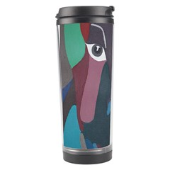 Abstract God Pastel Travel Tumbler