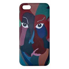 Abstract God Pastel iPhone 5S Premium Hardshell Case