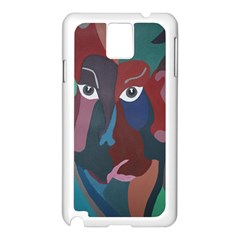 Abstract God Pastel Samsung Galaxy Note 3 N9005 Case (White)
