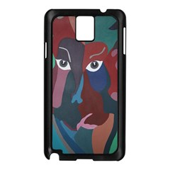 Abstract God Pastel Samsung Galaxy Note 3 N9005 Case (black)