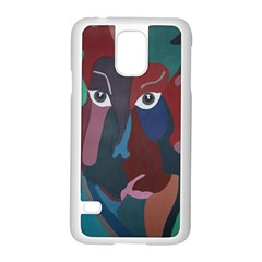 Abstract God Pastel Samsung Galaxy S5 Case (White)