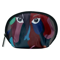 Abstract God Pastel Accessory Pouch (medium)