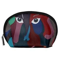 Abstract God Pastel Accessory Pouch (large)