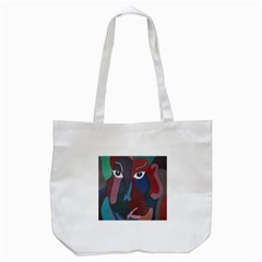 Abstract God Pastel Tote Bag (White)